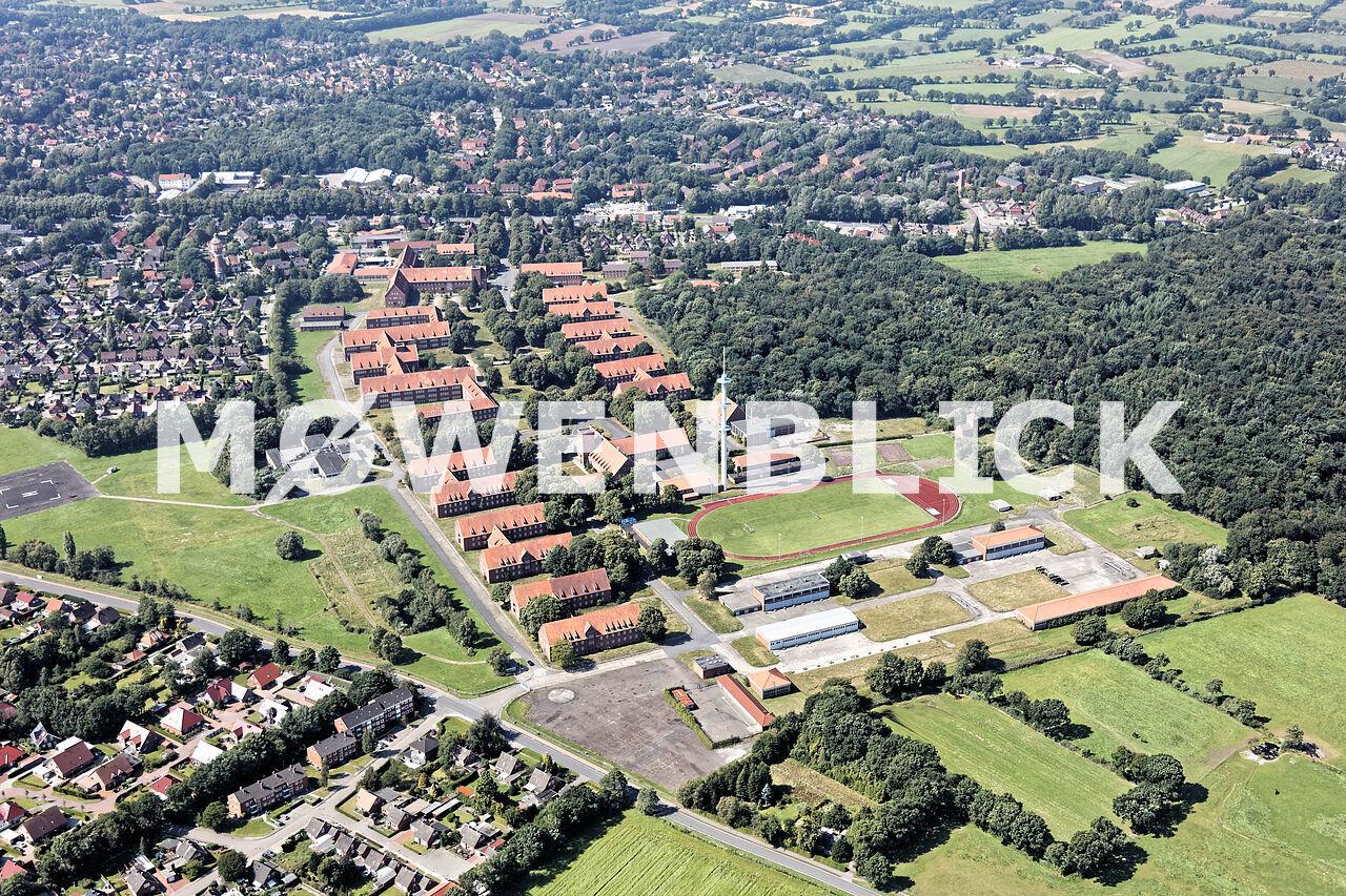 Blücher Kaserne Luftbild