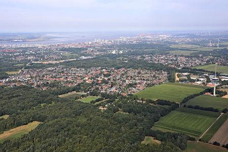 Luftaufnahme Hambergen
