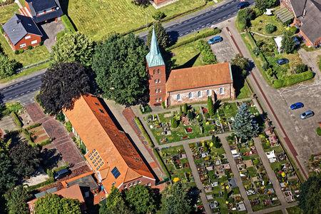 Luftaufnahme Evangelisch-Lutherische Kirche