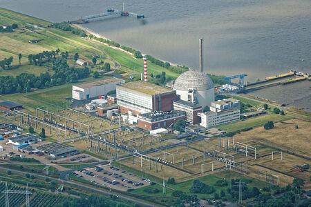 Luftaufnahme Kraftwerk