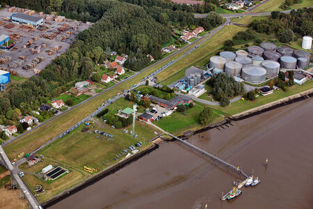 Luftaufnahme Castor
