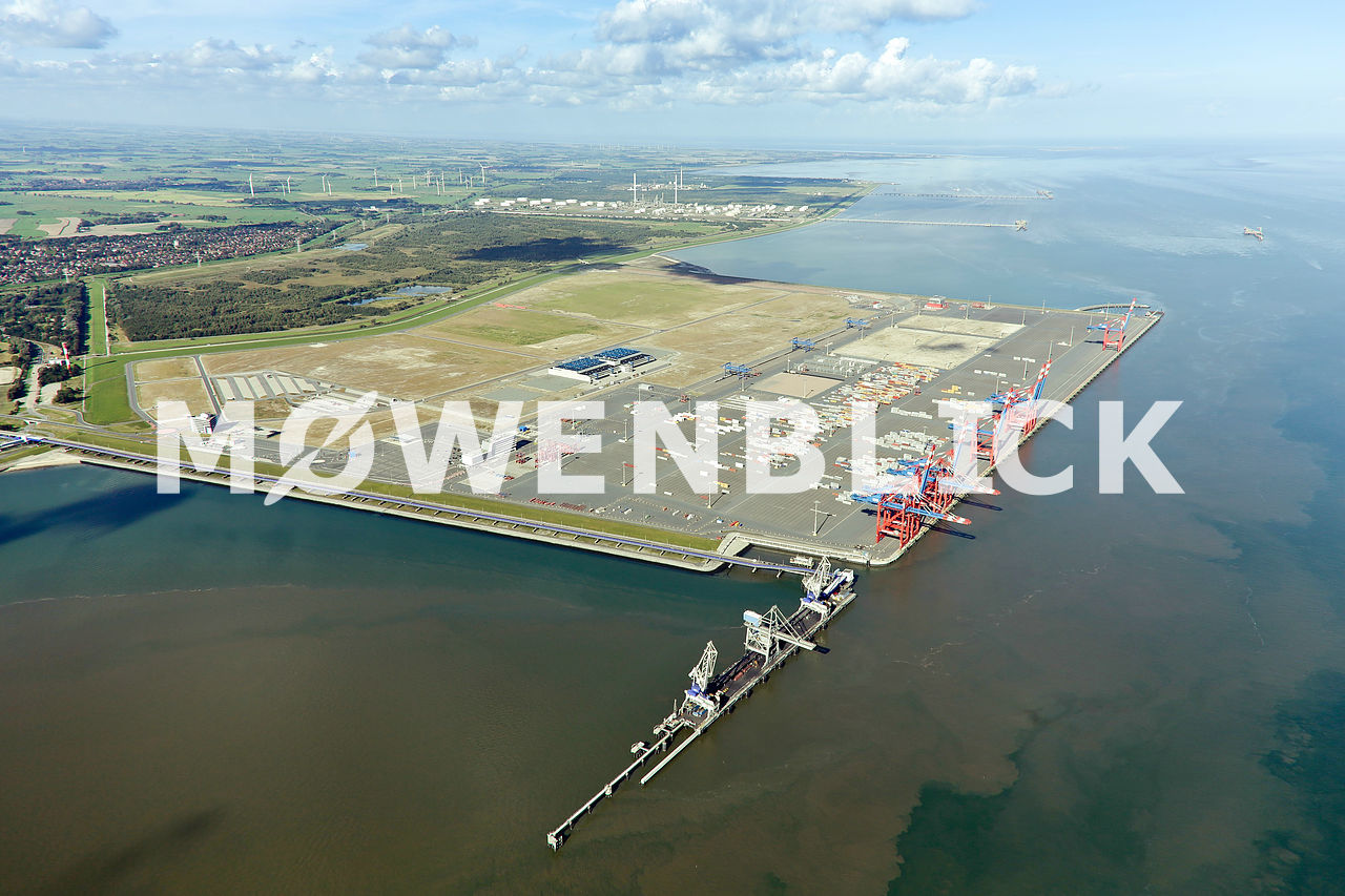 Jade Weser Port Luftbild