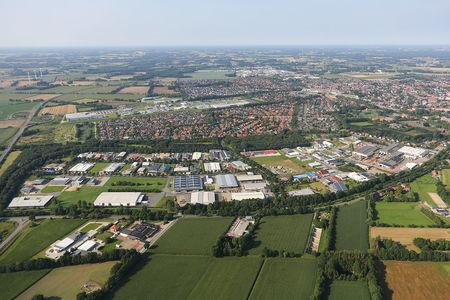 Luftaufnahme Vechtaer Marsch