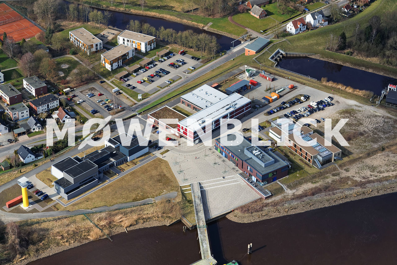 Maritimer Campus Elsfleth Luftbild