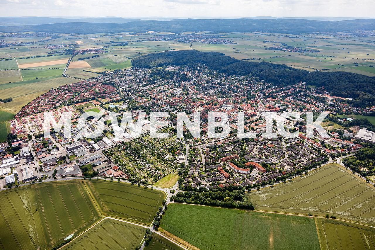 Gehrden von oben Luftbild