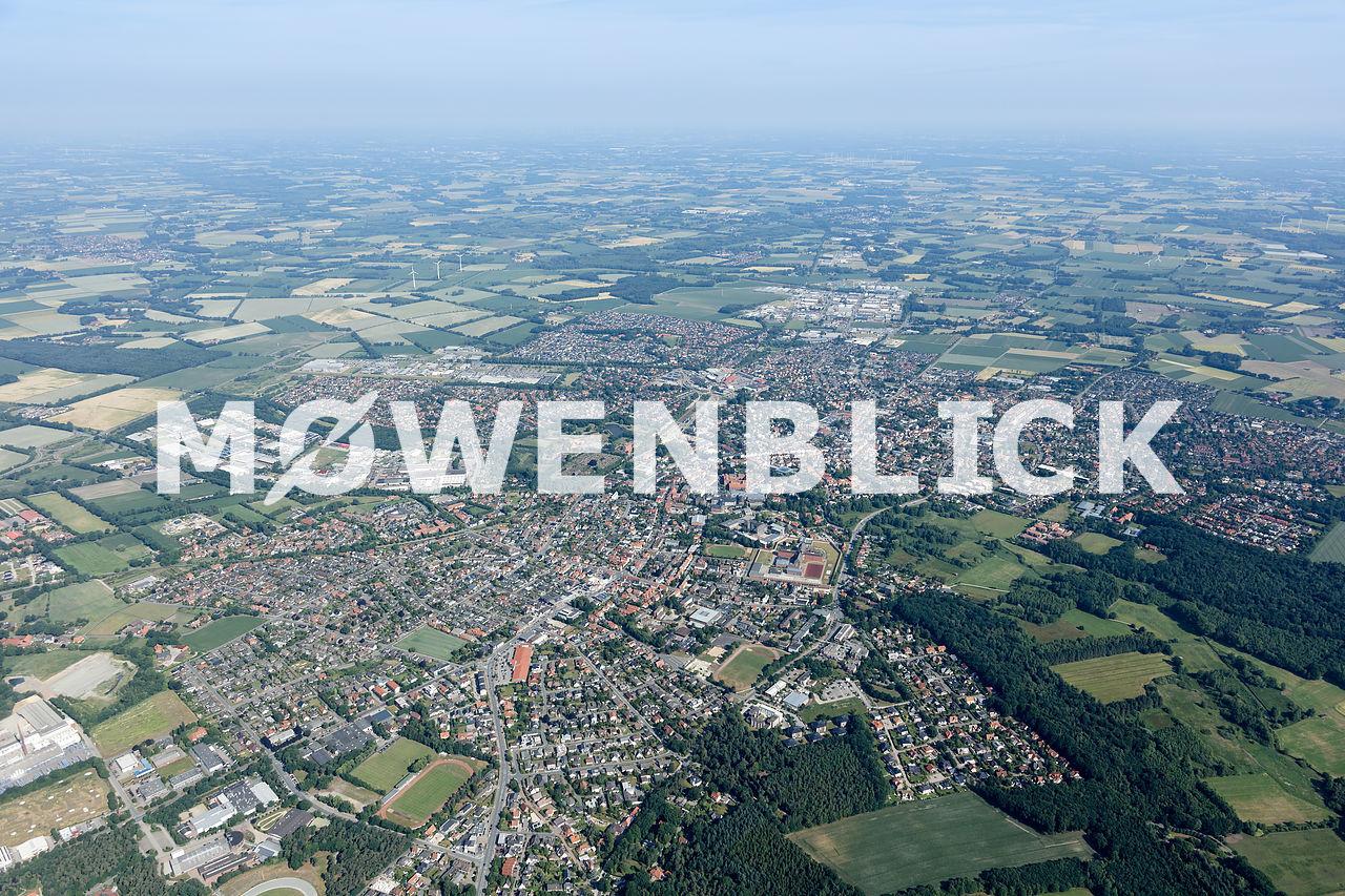 Stadtmitte Luftbild