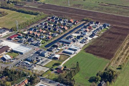 Luftaufnahme Stadt Edewecht