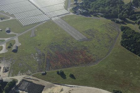 Luftaufnahme Fliegerhorst Oldenburg