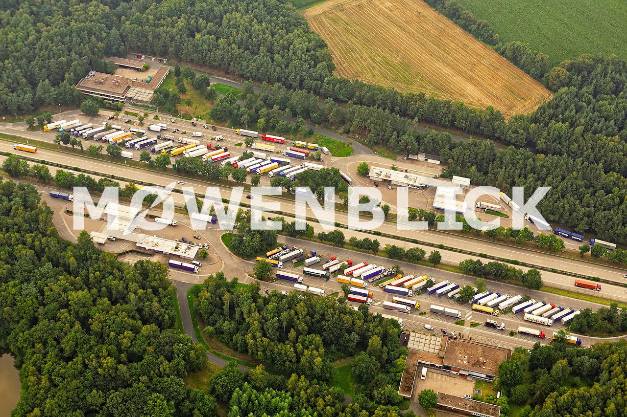 Raststätte Wildeshausen Luftbild