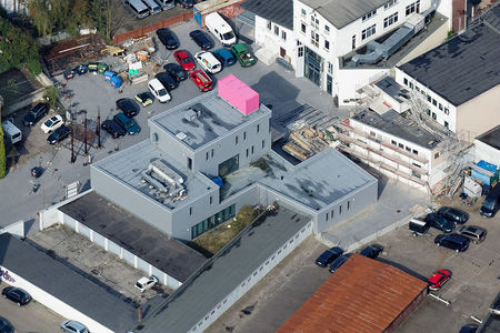 Luftaufnahme Gebäude