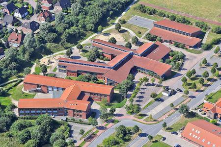 Luftaufnahme Hauptschule Syke