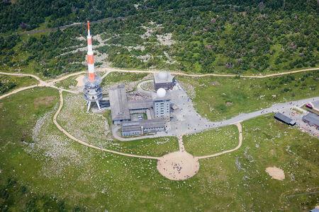 Luftaufnahme Harz