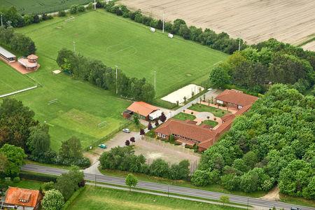 Luftaufnahme Am Sportplatz