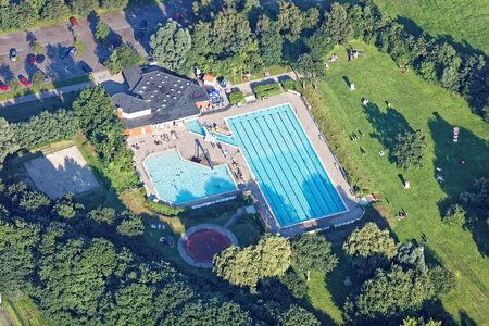 Luftaufnahme Freibad