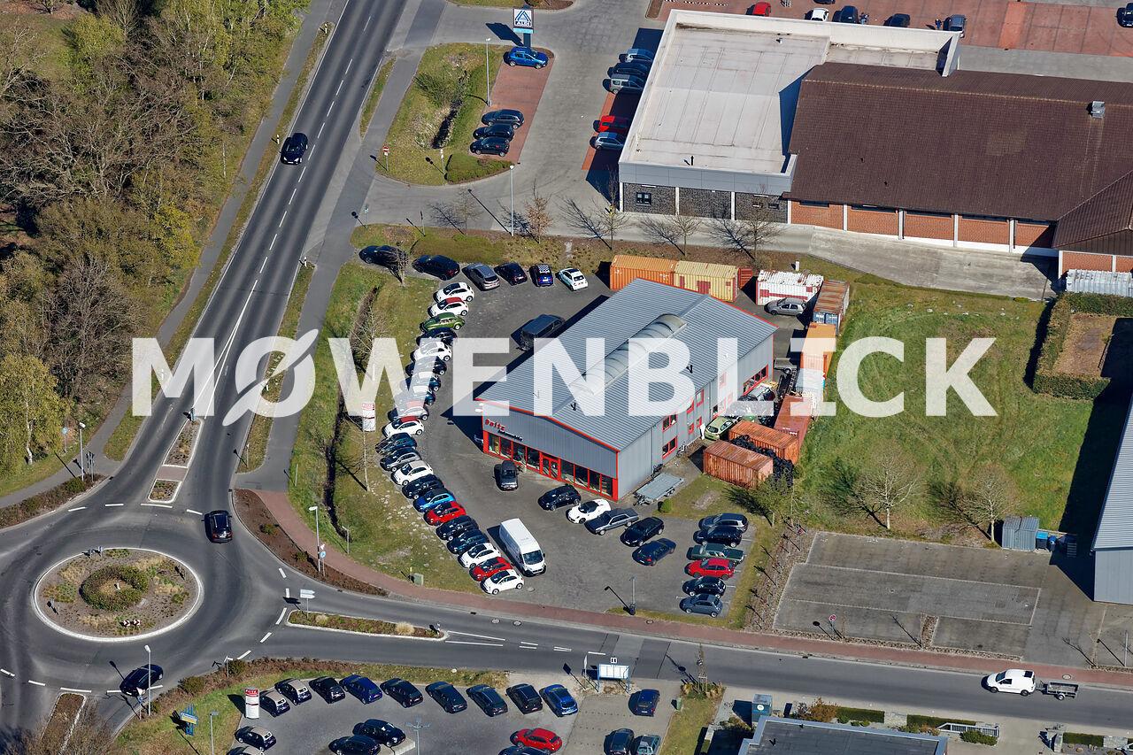 Bolte Automobile Luftbild