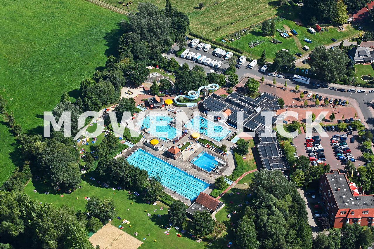 Badepark Luftbild
