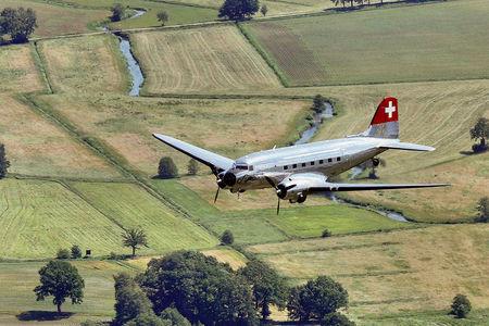Luftaufnahme Rosinenbomber in Ganderkesee