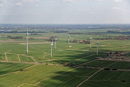 Luftaufnahme Windpark Schmackens