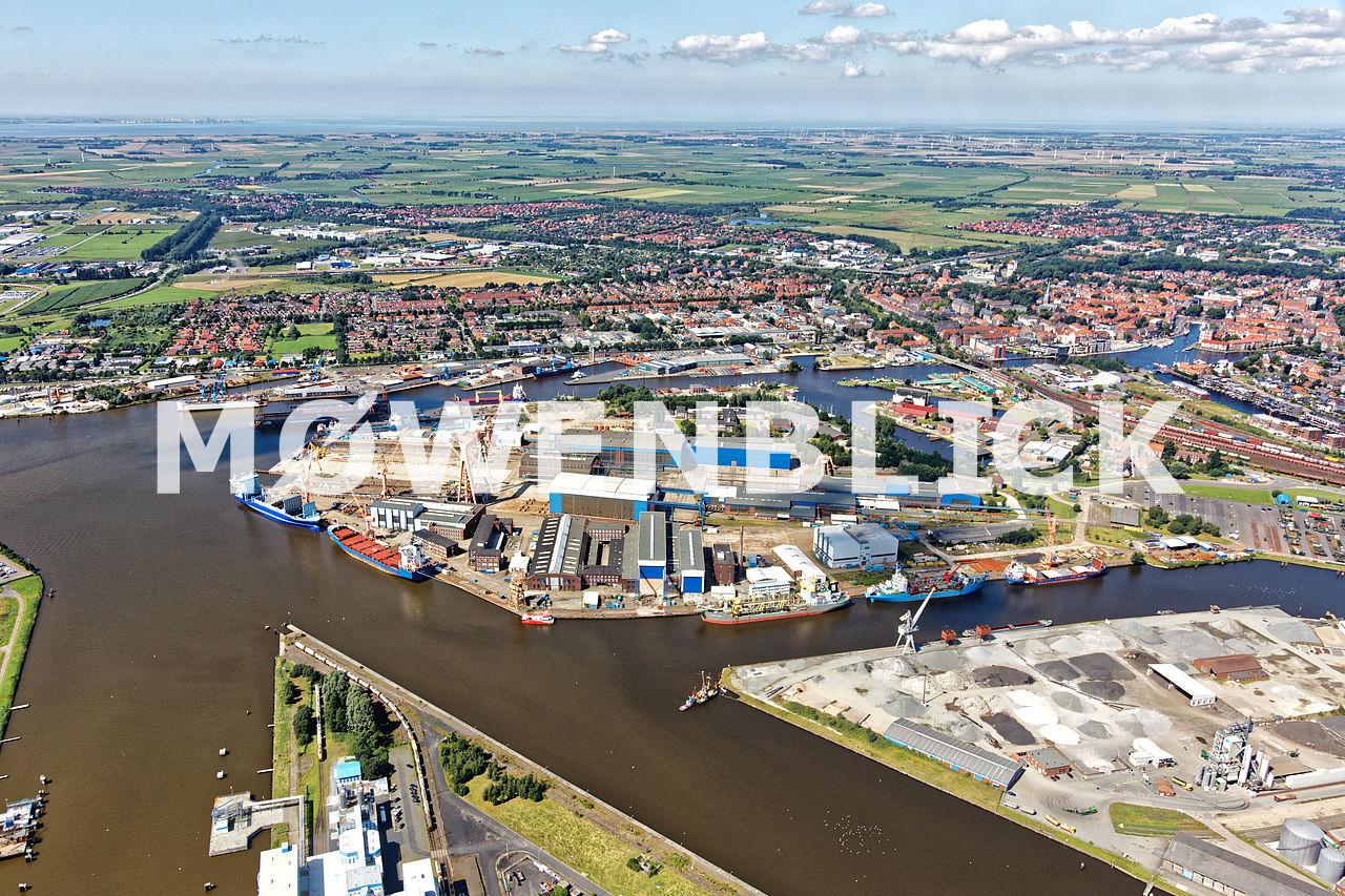 Nordseewerke Luftbild