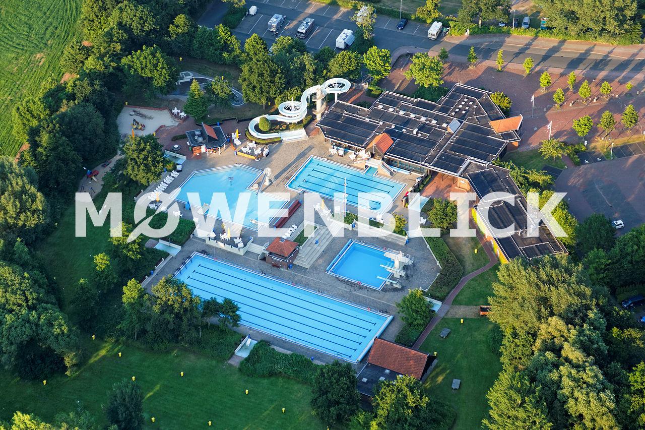Badepark Zwischenahn Luftbild