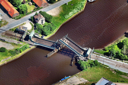 Bahnbrücke über die Hunte