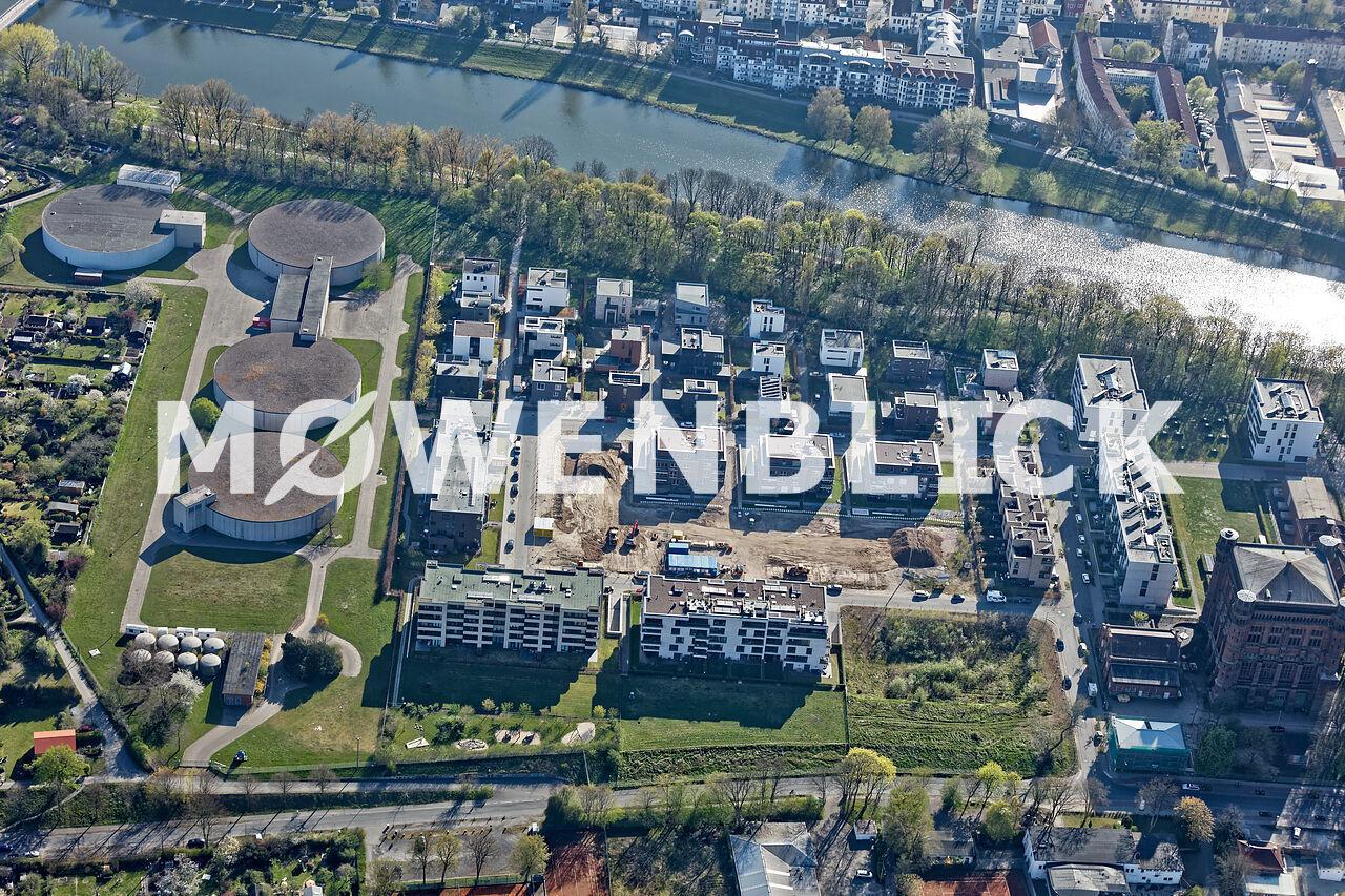 Stadtwerder Luftbild