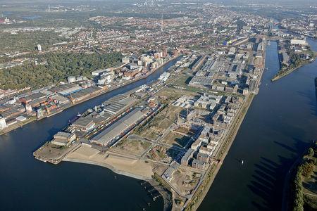 Luftaufnahme Überseestadt