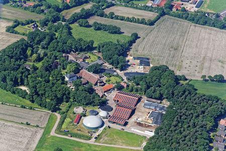 Luftaufnahme Wahnbek