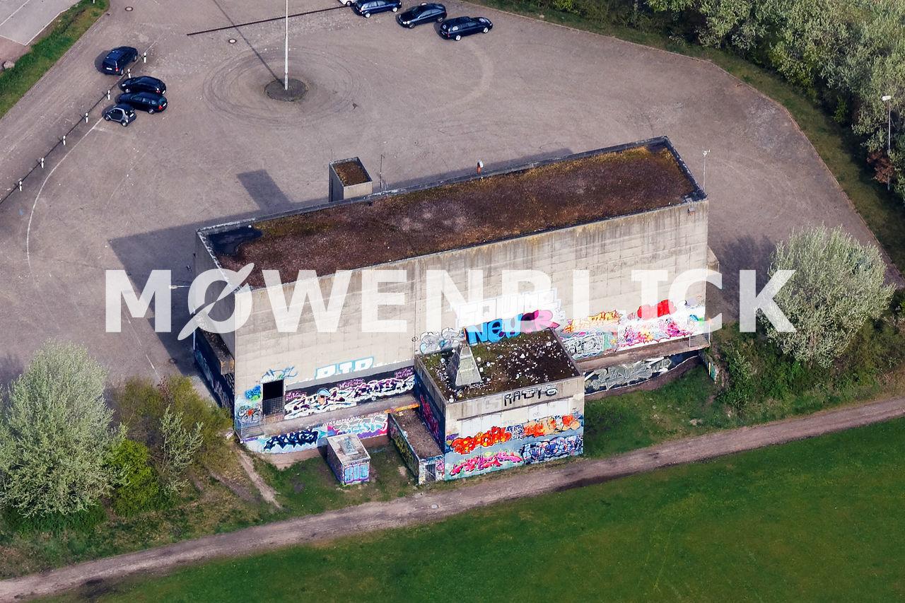 ehemaliger Müllbunker Luftbild