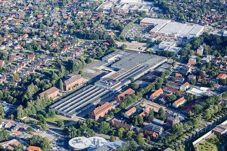 Luftaufnahme Quartier MediTech