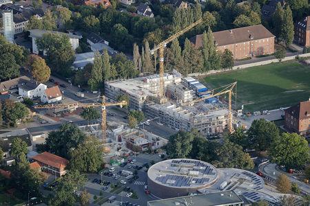Luftaufnahme GSG Klingenbergstraße