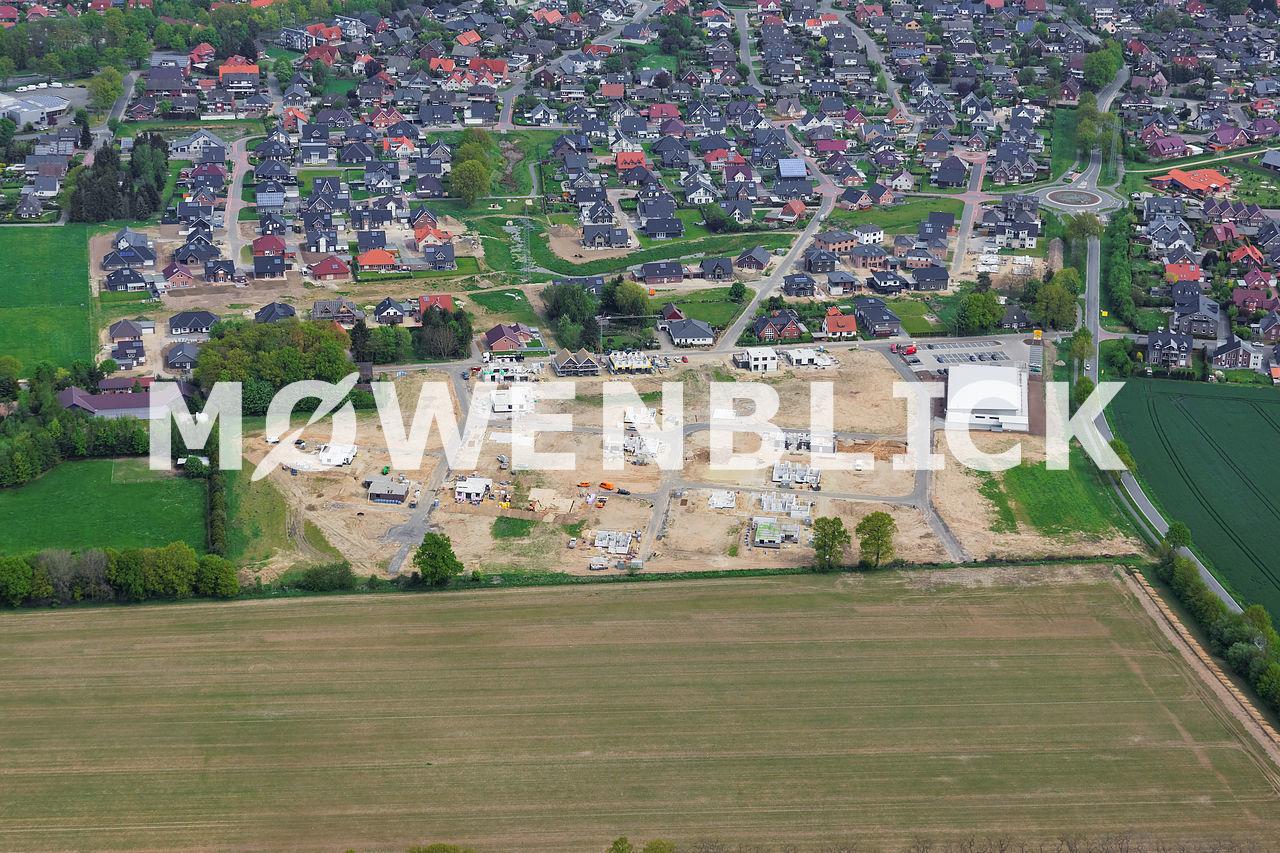 Baugebiet Freesienstraße Luftbild