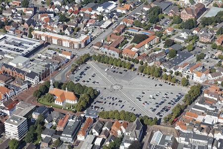 Luftaufnahme Marktplatz