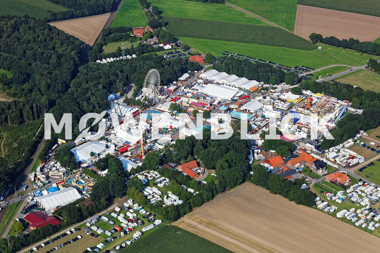 Stoppelmarkt 2015 Luftbild