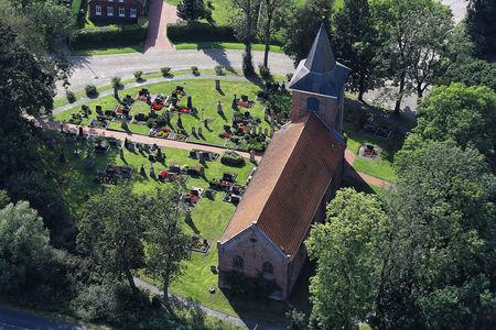Luftaufnahme Petrus-Paulus Kirche