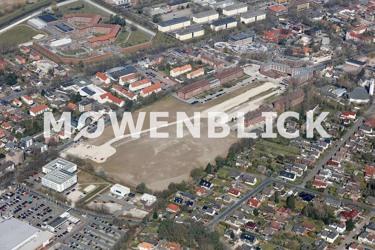 Quartier MediTech Areal Luftbild