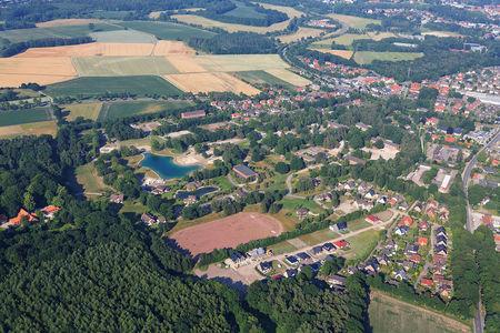 Luftaufnahme Wohngebiet