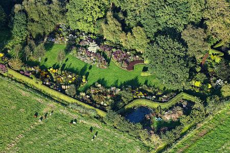 Luftaufnahme Garten Moorriem