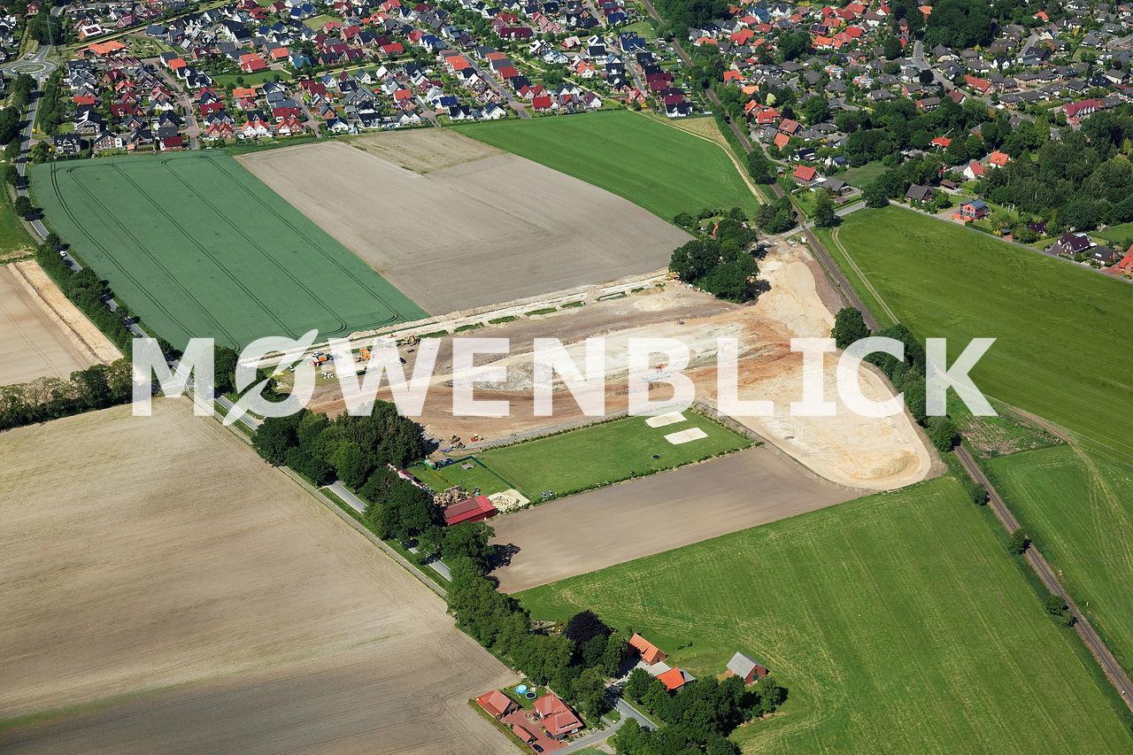 Kessener Weg Luftbild