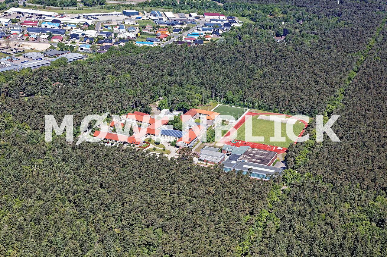 Waldschule Luftbild