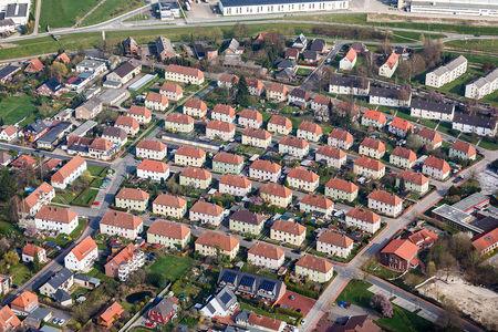 Luftaufnahme Eschhofsiedlung