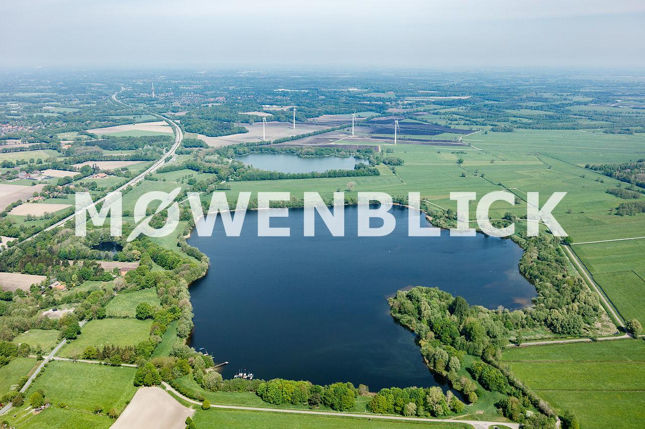 Großer Bornhorster See Luftbild