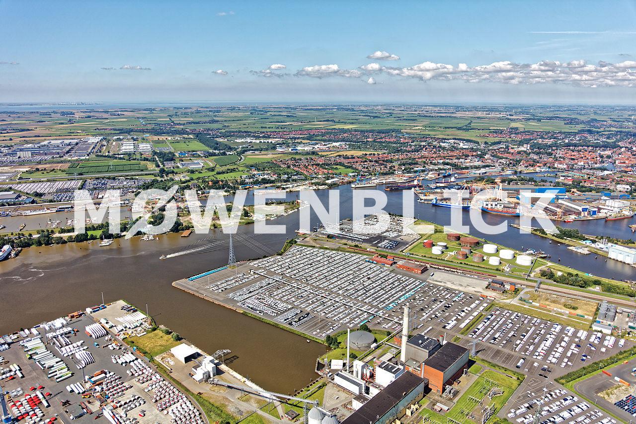 Industriehafen Luftbild