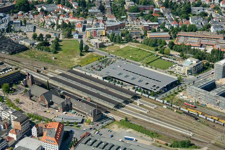 Bahnhof und ZOB