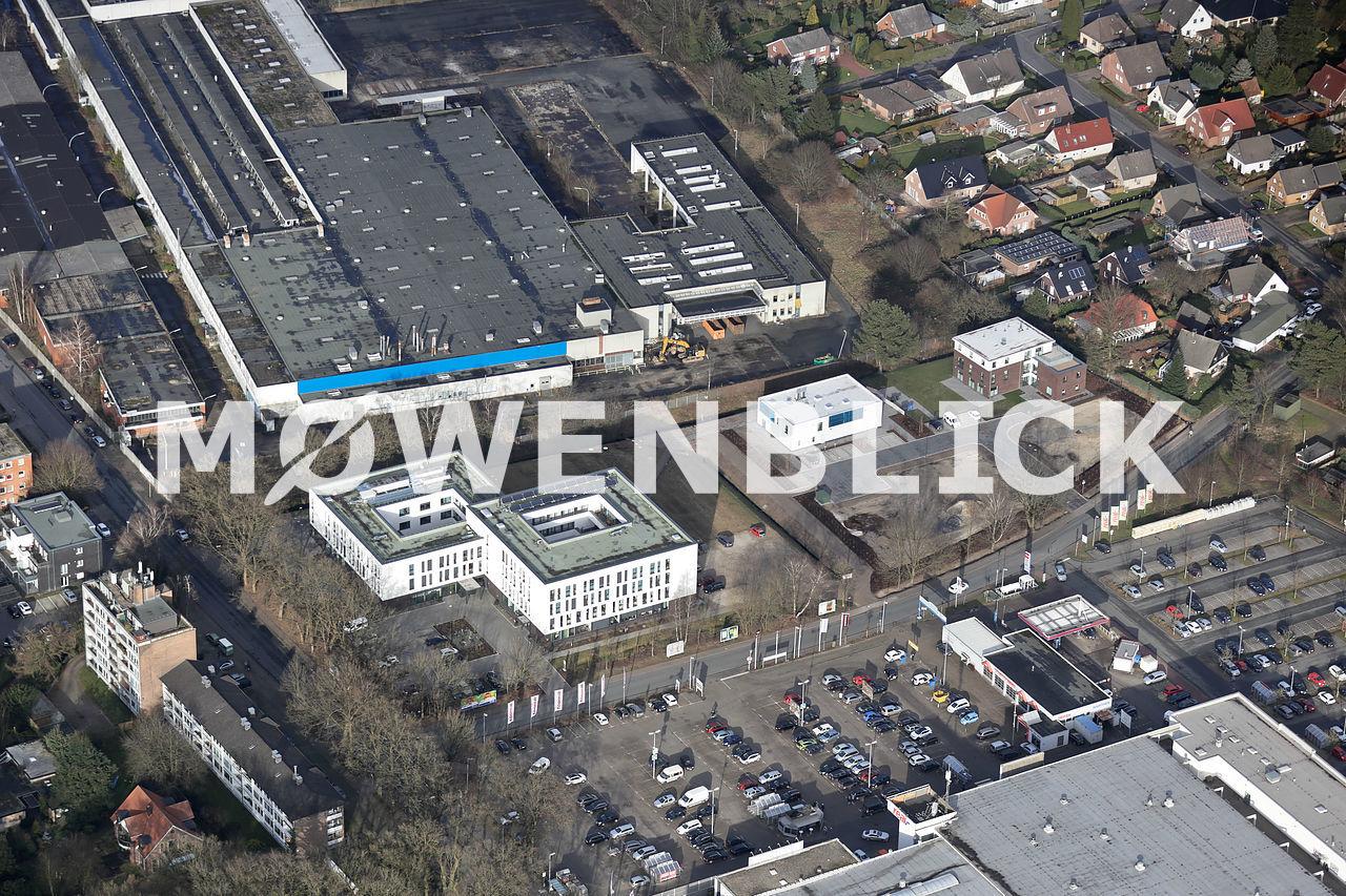 Schellenberg Luftbild