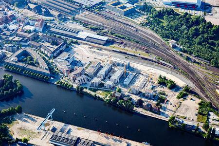 Luftaufnahme Promenade