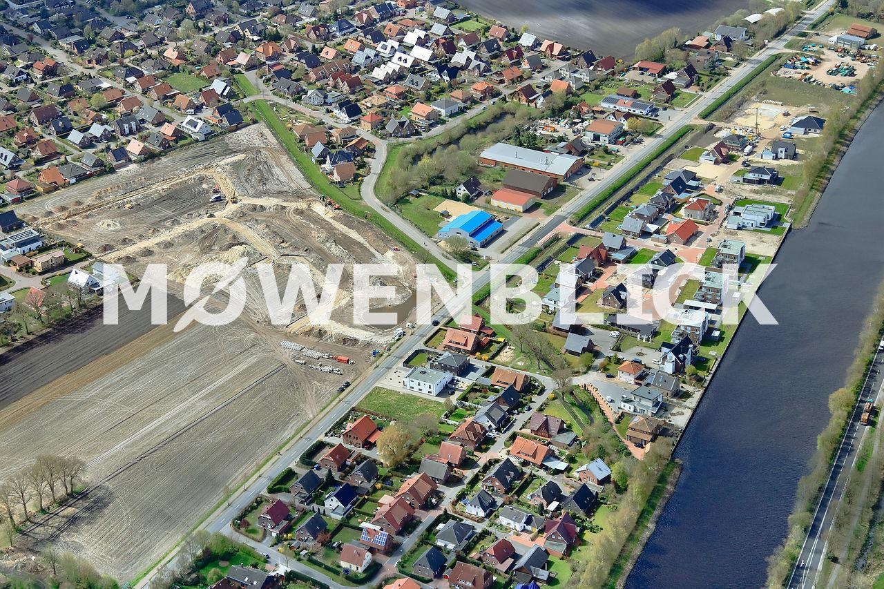 Neubaugebiet Maisfeld Luftbild