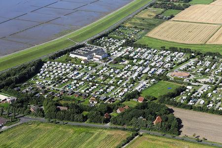 Luftaufnahme Nordsee-Camp