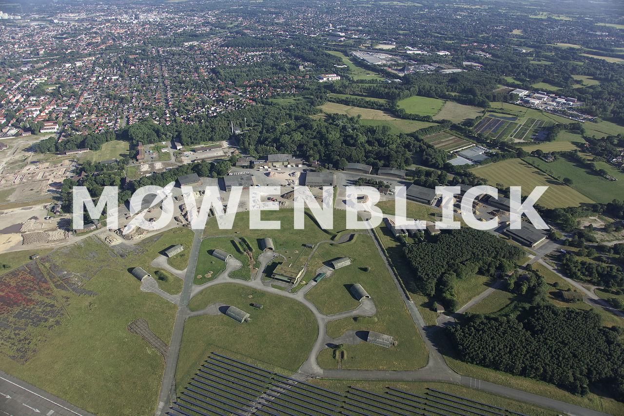 Fliegerhorst Baumassnahmen Luftbild