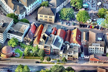 Luftaufnahme Schloßplatz